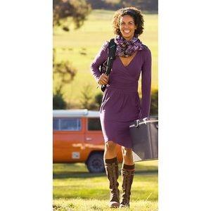 Athleta Perfect Packer Dress Purple Size Small